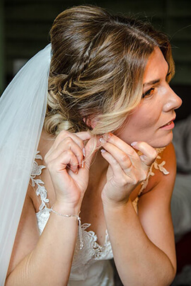 When to book hair and makeup trial for wedding